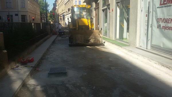 Radovi u Varšavskoj