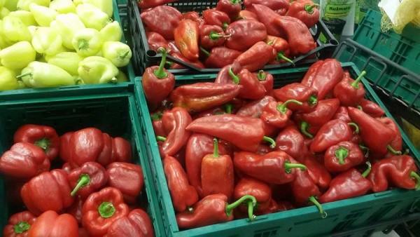 Paprike u Konzumu