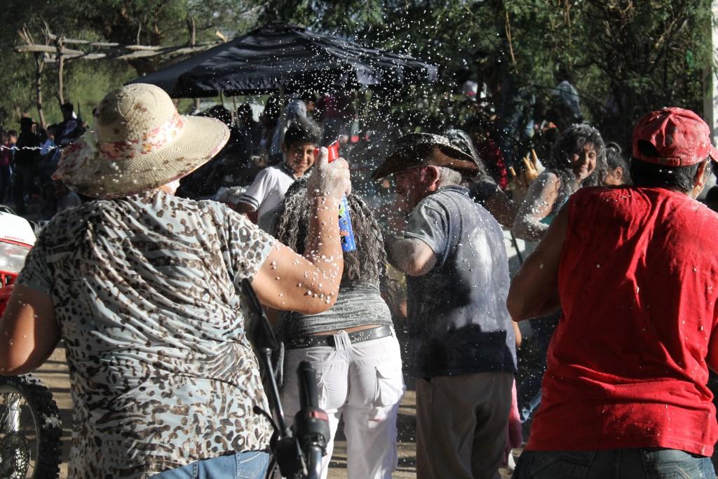 Proslava dana kaktusovog cvijeta u selu Caspinchango