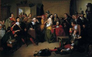 """Examination of a Witch"" (1853) by T. H. Matteson"