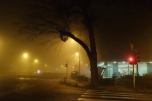07.12.2015., Zagreb - Zagreb je i dalje obavijen gustom maglom. Zvonimirova ulica. Photo: Tomislav Miletic/PIXSELL