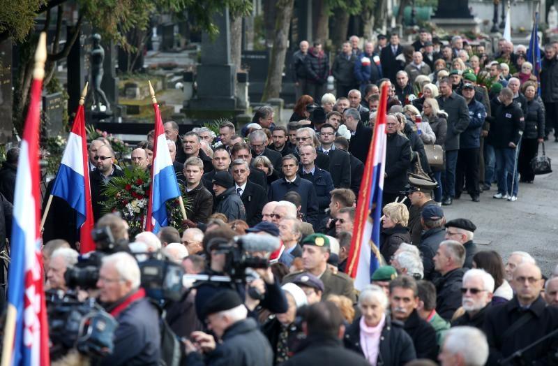 10.12.2015., Zagreb, Mirogoj - 16. obljetnica smrti prvog hrvatskog predsjednika Franje Tudjmana. Photo: Igor Kralj/PIXSELL