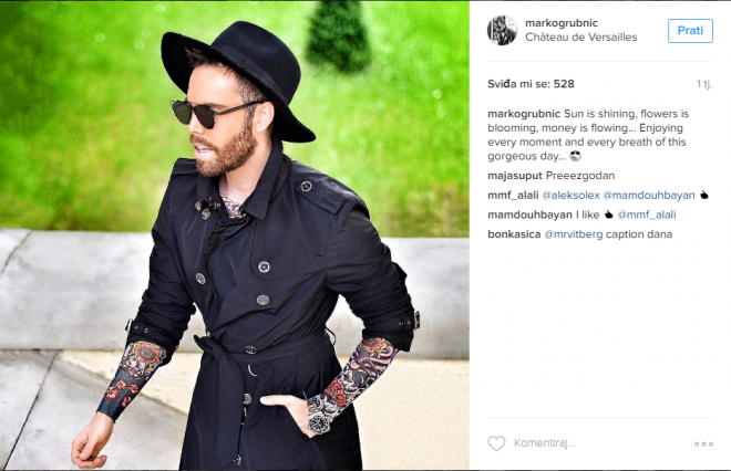 Marko grubnić/Instagram