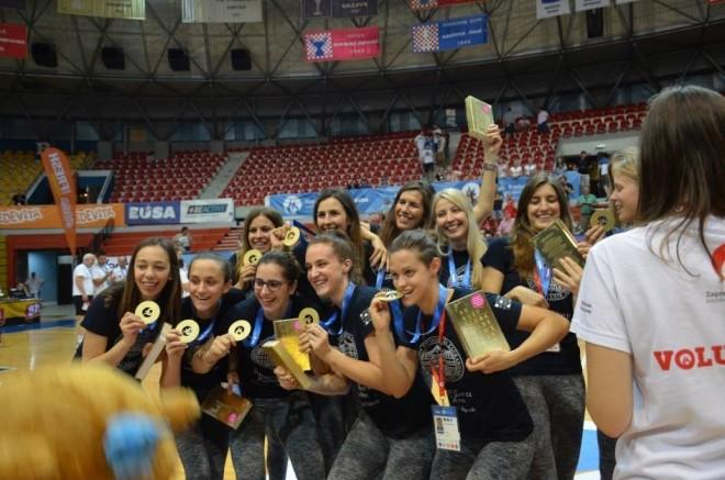 Košarkašice sa Sveučilišta u Zagrebu/ Facebook EUG2016