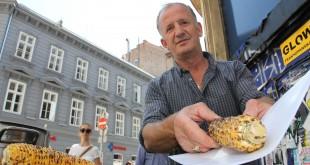 prodavač kukuruza