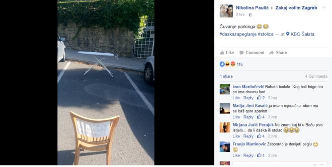 Zakaj volim Zagreb/Facebook