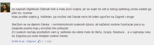 Screenshoot Slobodna Dalmacija
