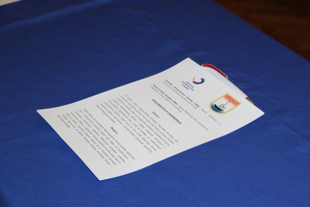 Deklaracija o ujedinjenju HKS - ABH