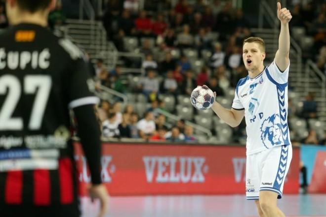 22.10.2016., Arena Zagreb, Zagreb - VELUX EHF Liga prvaka, skupina B, 5. kolo, RK PPD Zagreb - RK Vardar. Lovro Jotic. Photo: Dalibor Urukalovic/PIXSELL