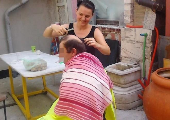 beskućnici šišanje