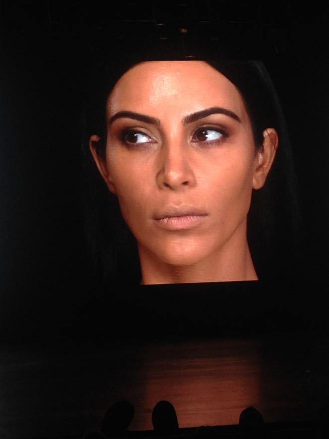 kim kardashian - make up 1