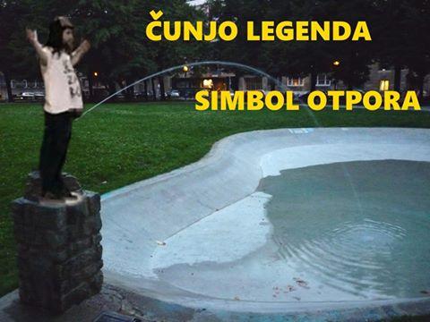 FOTO: Facebook / Čunjo legenda - simbol otpora