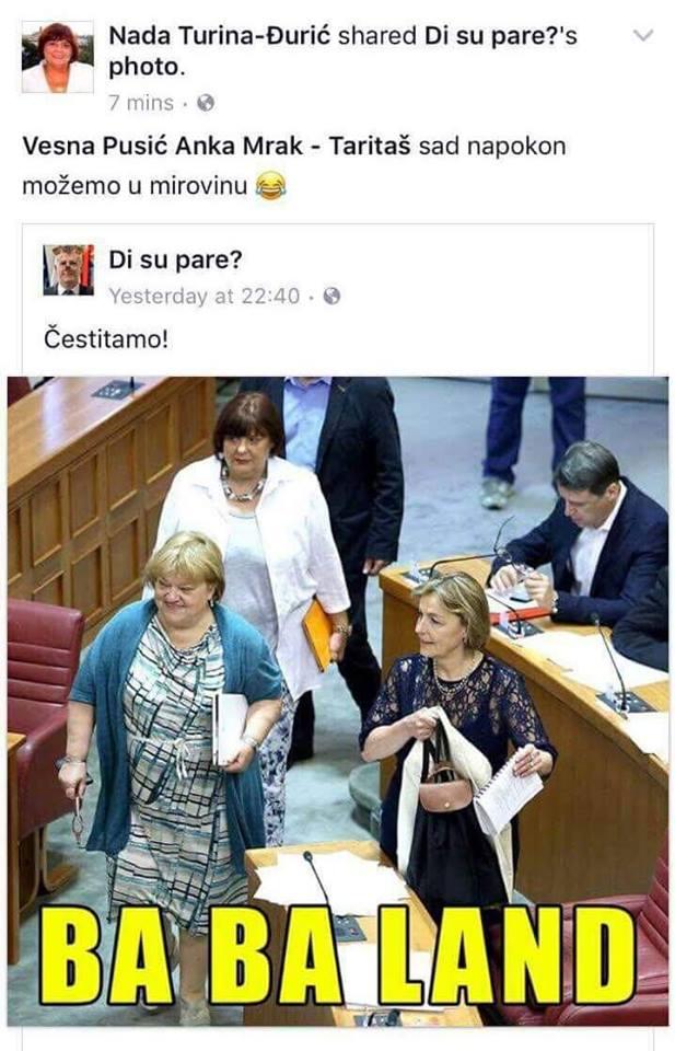 FOTO: Facebook/ screenshoot