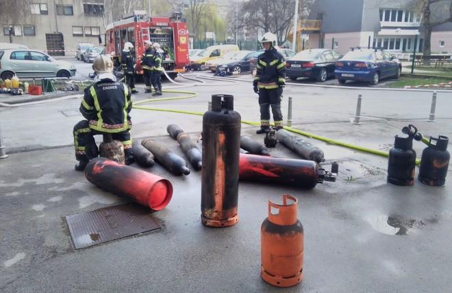 FOTO: Facebook/ Vatrogasna postrojba Zagreb
