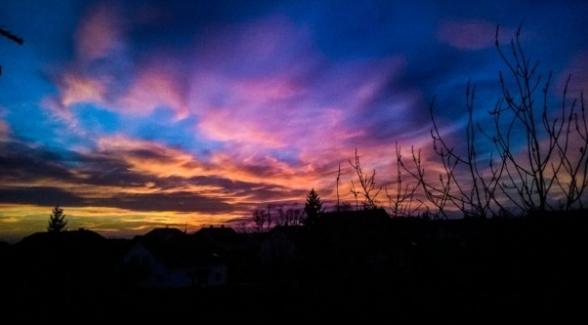 Zalazak sunca u Sesvetama, FOTO: Marko Prpić