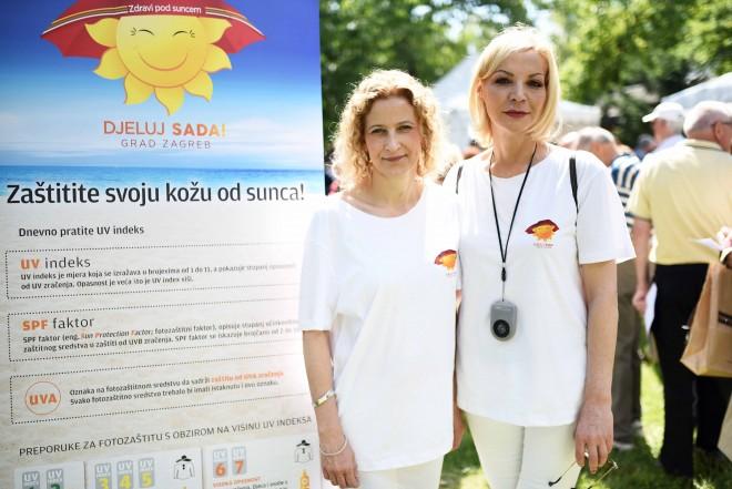 prim. Sanja Poduje, dr.med. spec. dermatovenerolog i prof.dr.sc. Mirna Šitum