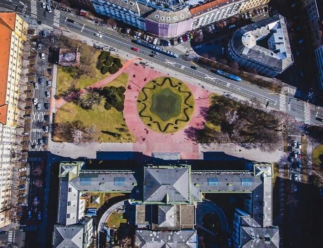 Muzej Mimara- Zagreb from above