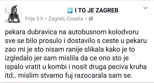 FOTO: Facebook/ I to je Zagreb