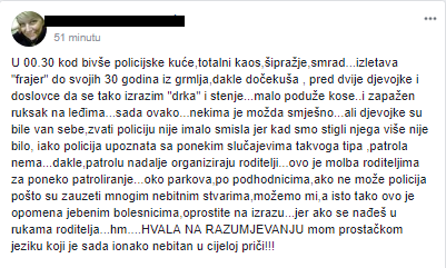Screenshot: Facebook / Gajnice jučer danas sutra