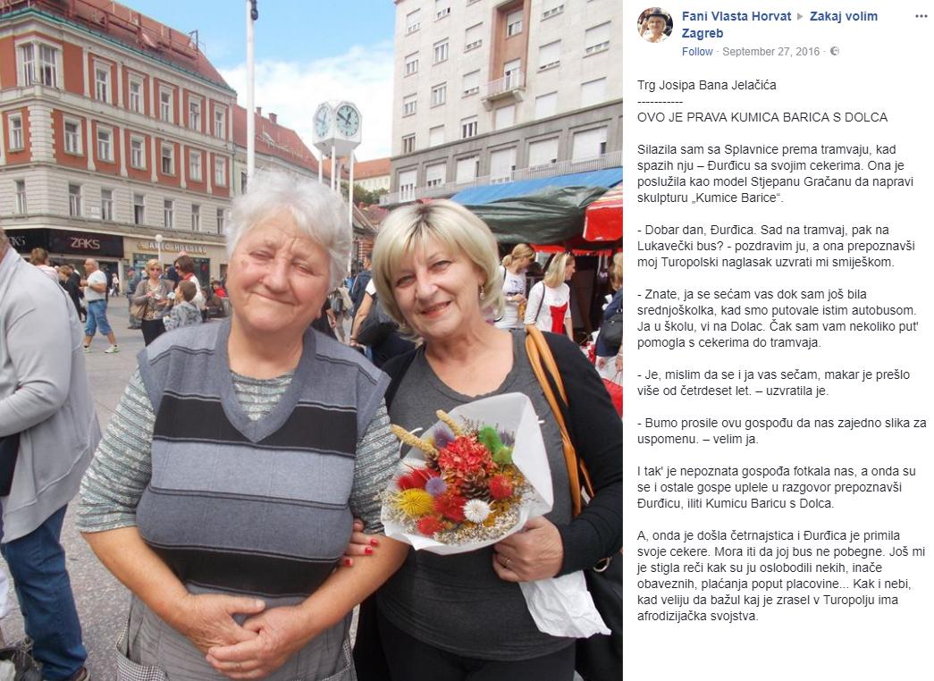FOTO: Fani Vlasta Horvat / Zakaj volim Zagreb / Screenshot