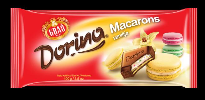 Dorina Macarons vanilija 100g