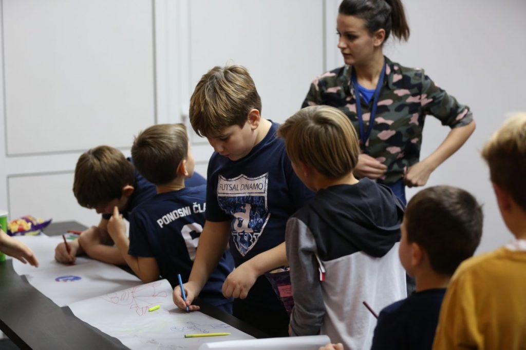 Futsal Dinamo djeca