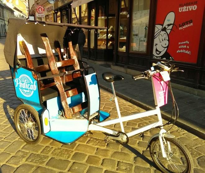 FOTO: Zagreb Pedicab