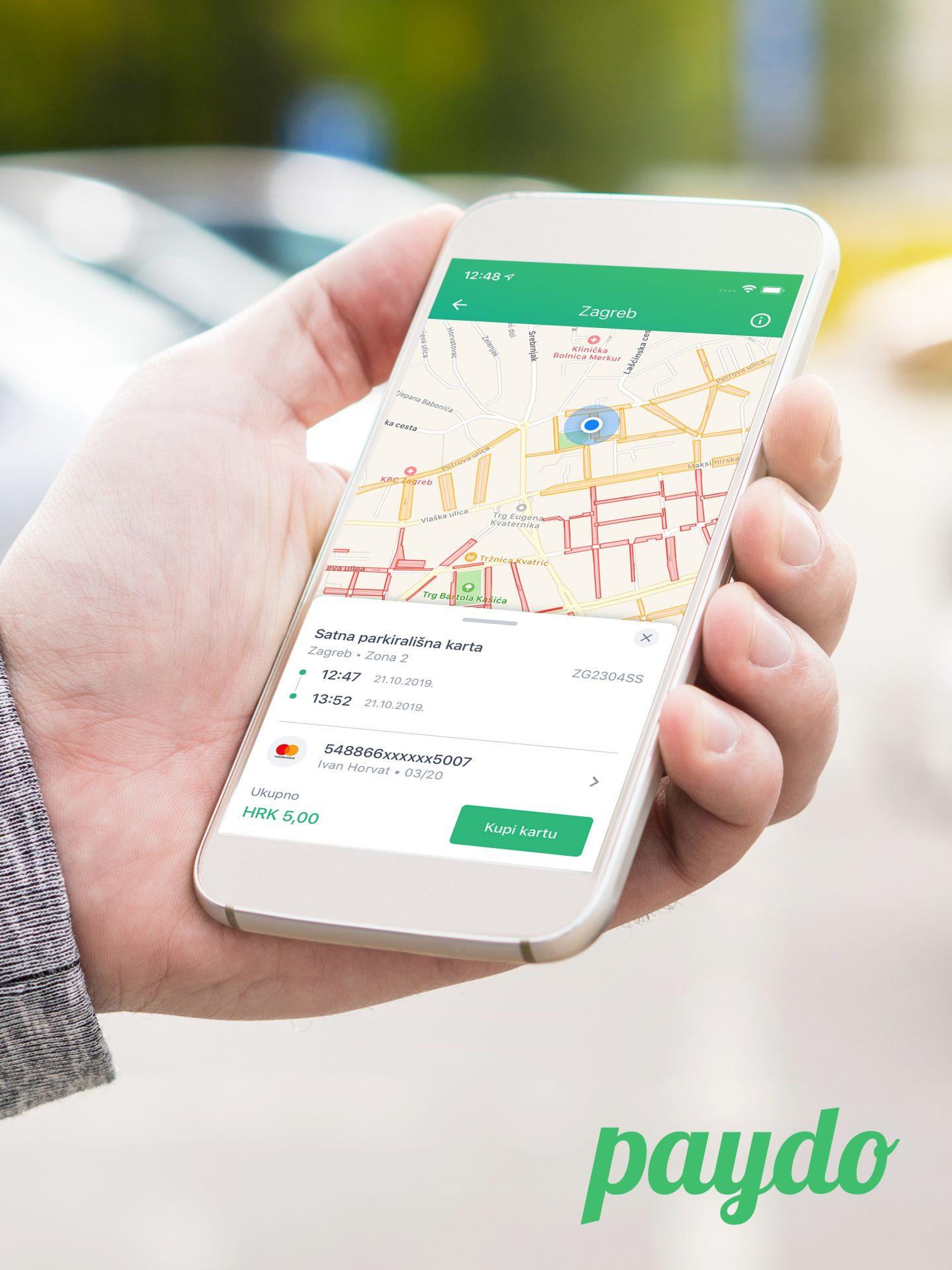 Aplikacija za pronalazak mjesta