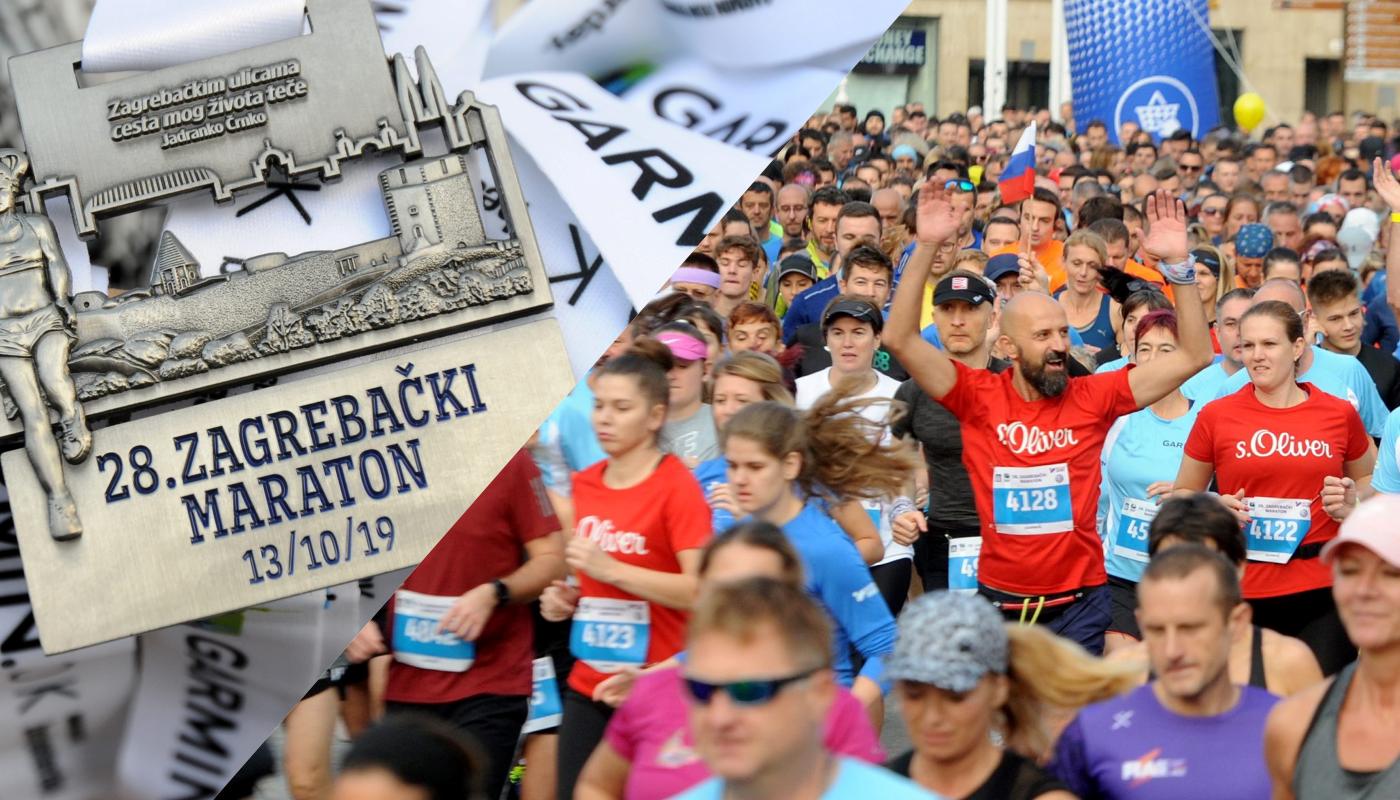 Foto Zagrebacki Maraton Zatvorio Centar Grada Gradonacelnik Se