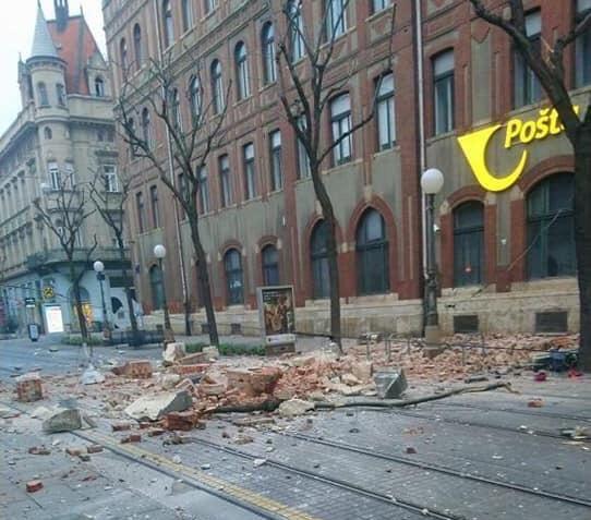 Snazan Potres Pogodio Zagreb Policija Izdala Upozorenje Drzite Razmak Zagreb Info