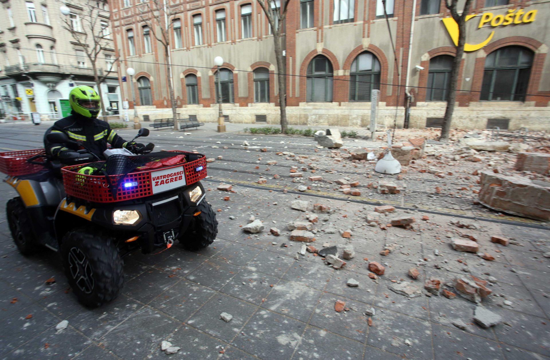 Potres U Zagrebu 35 Uspjesnih Intervencija Vatrogasaca Zagreb Info