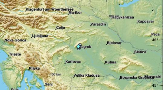 Na Uskrs U Zagrebu Zabiljezeno Cak 10 Potresa Od Zore Do Danasnjeg Jutra Zagreb Info
