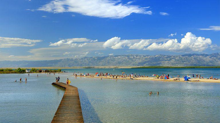 queens beach, nin, zadar, dalmatia, croatia, www.zadarvillas.com